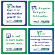<i>NEEDs for Tots</i> Coasters